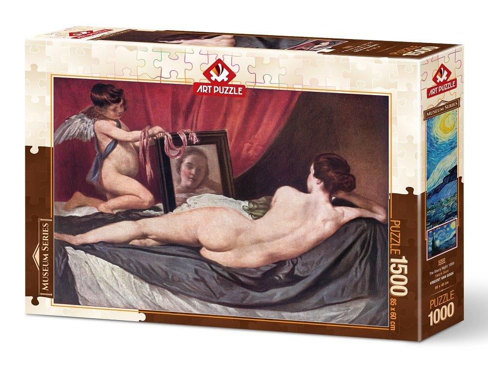 Puzzle Art Puzzle La Venus del Espejo de 1500 Piezas