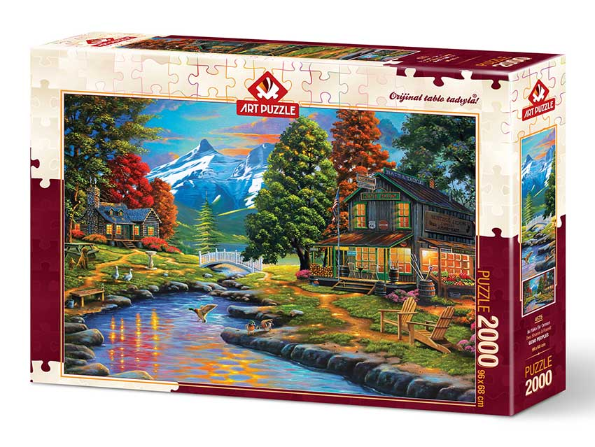 Puzzle Art Puzzle Las Dos Orillas del Bosque de 2000 Piezas