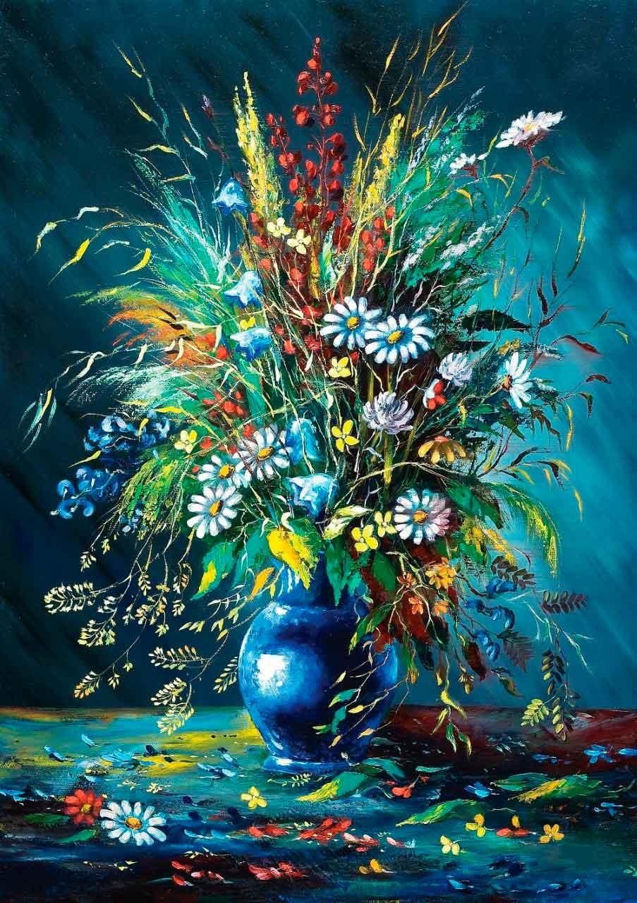 Puzzle Art Puzzle Las Flores Silvestres de 1000 Piezas
