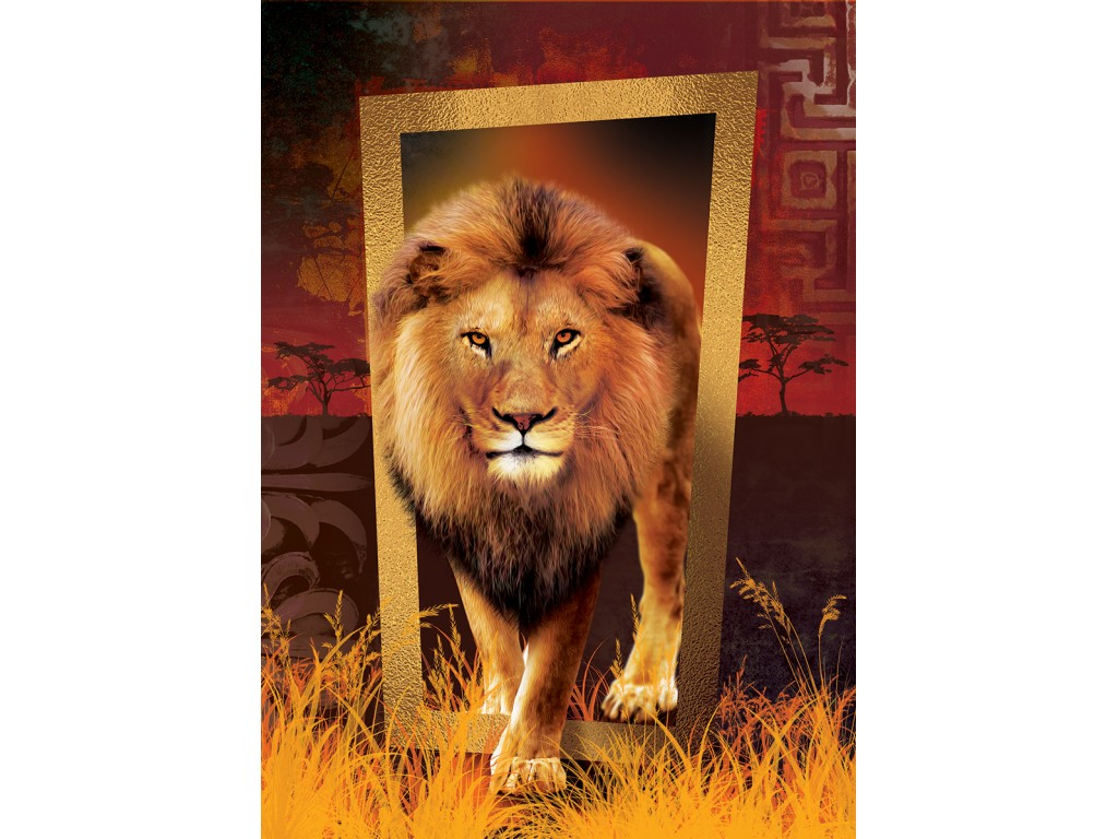 Puzzle Art Puzzle León, El Rey de la Sabana 1000 Piezas
