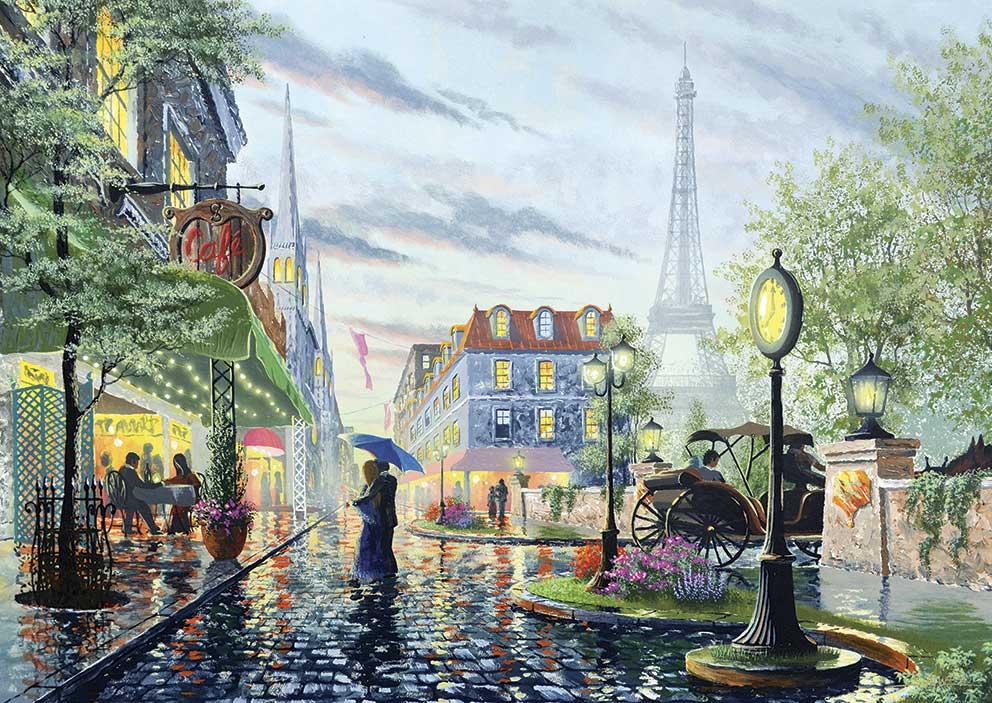 Puzzle Art Puzzle Lluvia de Verano en París de 2000 Piezas