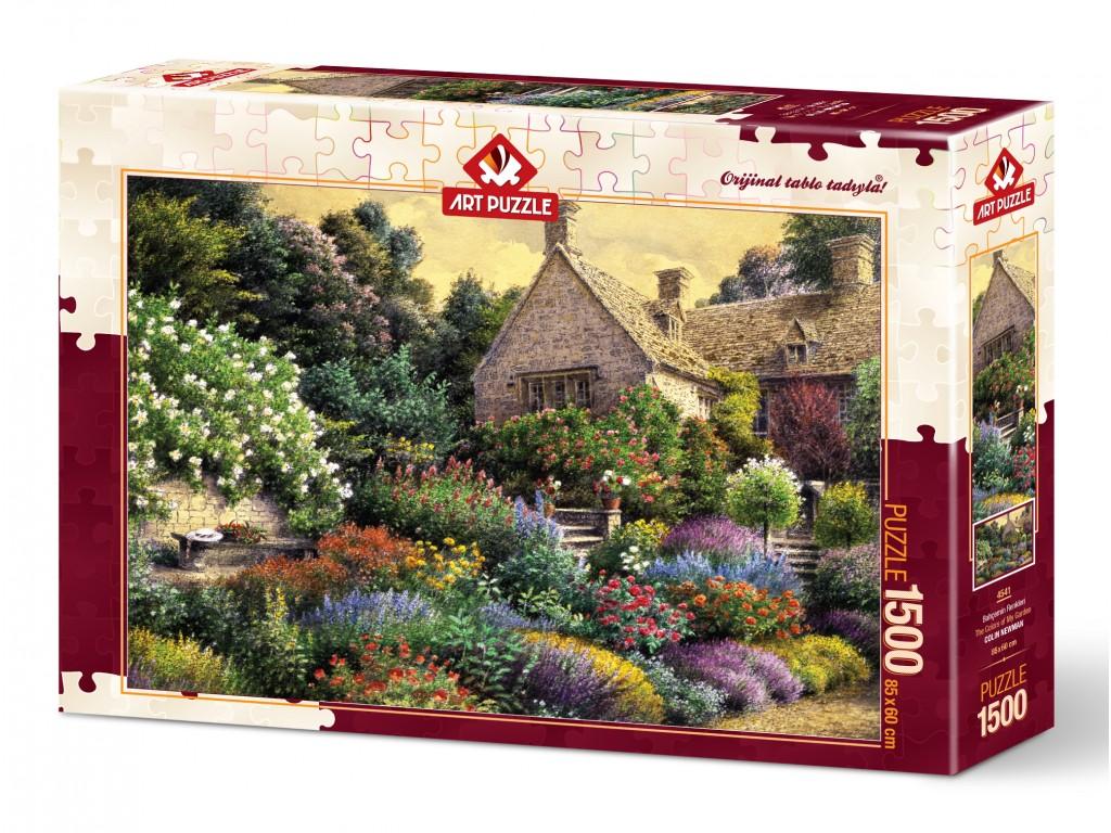 Puzzle Art Puzzle Los Colores de mi Jardín de 1500 Piezas