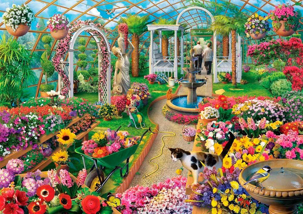 Puzzle Art Puzzle Los Colores del Invernadero de 1500 Piezas