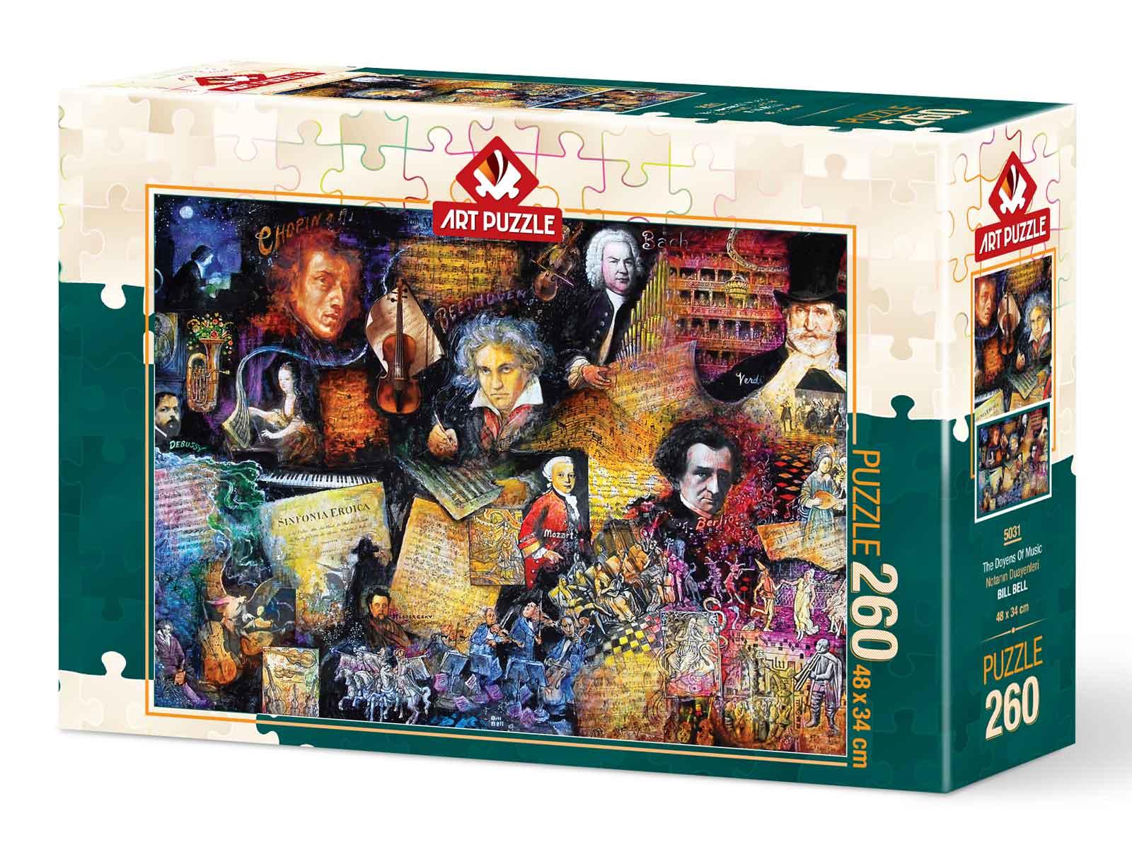 Puzzle Art Puzzle Los Decanos de la Música de 260 Piezas