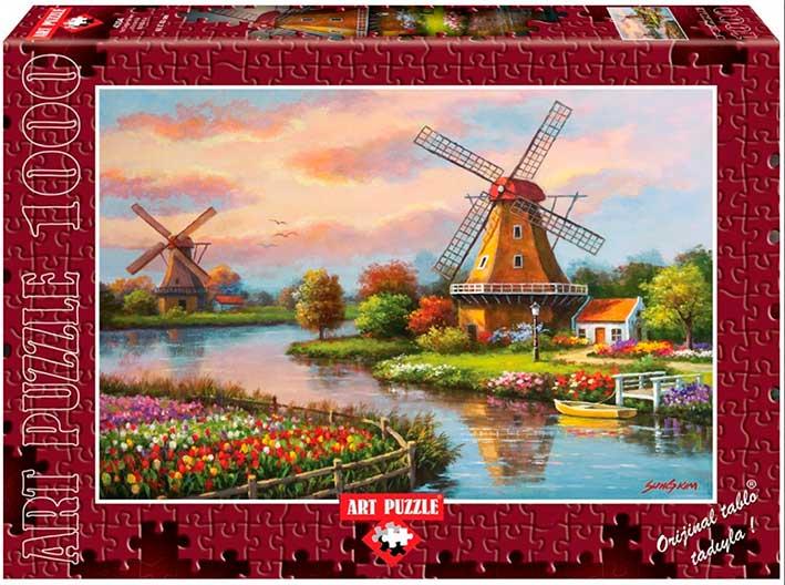 Puzzle Art Puzzle Los Molinos de Viento 1000 Piezas