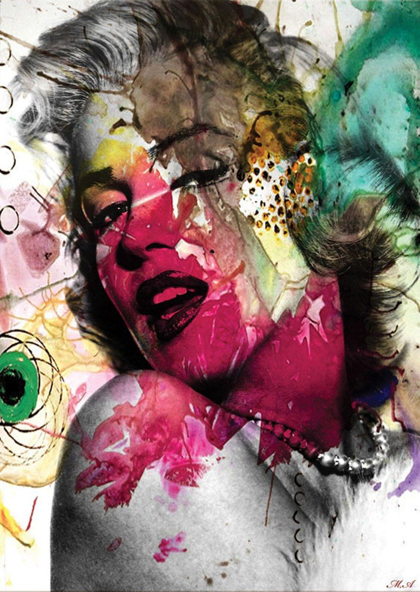 Puzzle Art Puzzle Marilyn Pop Art de 1500 Piezas