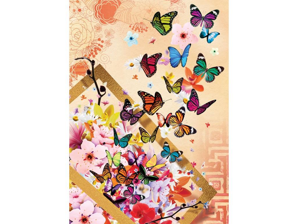 Puzzle Art Puzzle Mariposas de Primavera de 500 Piezas