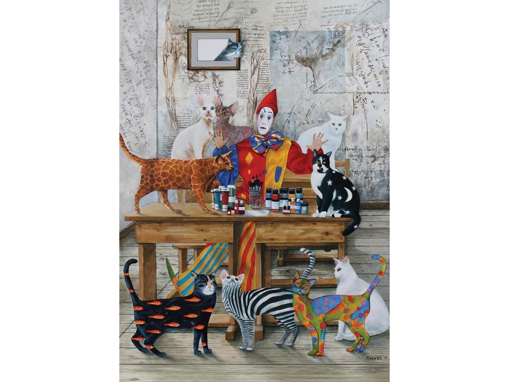 Puzzle Art Puzzle Mi Mundo Lleno de Colores de 1500 Piezas