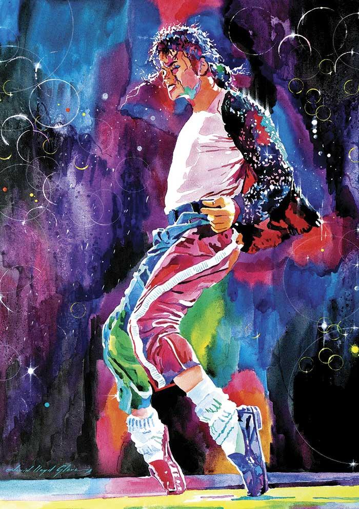 Puzzle Art Puzzle Michael Jackson, Moonwalk de 1000 Piezas