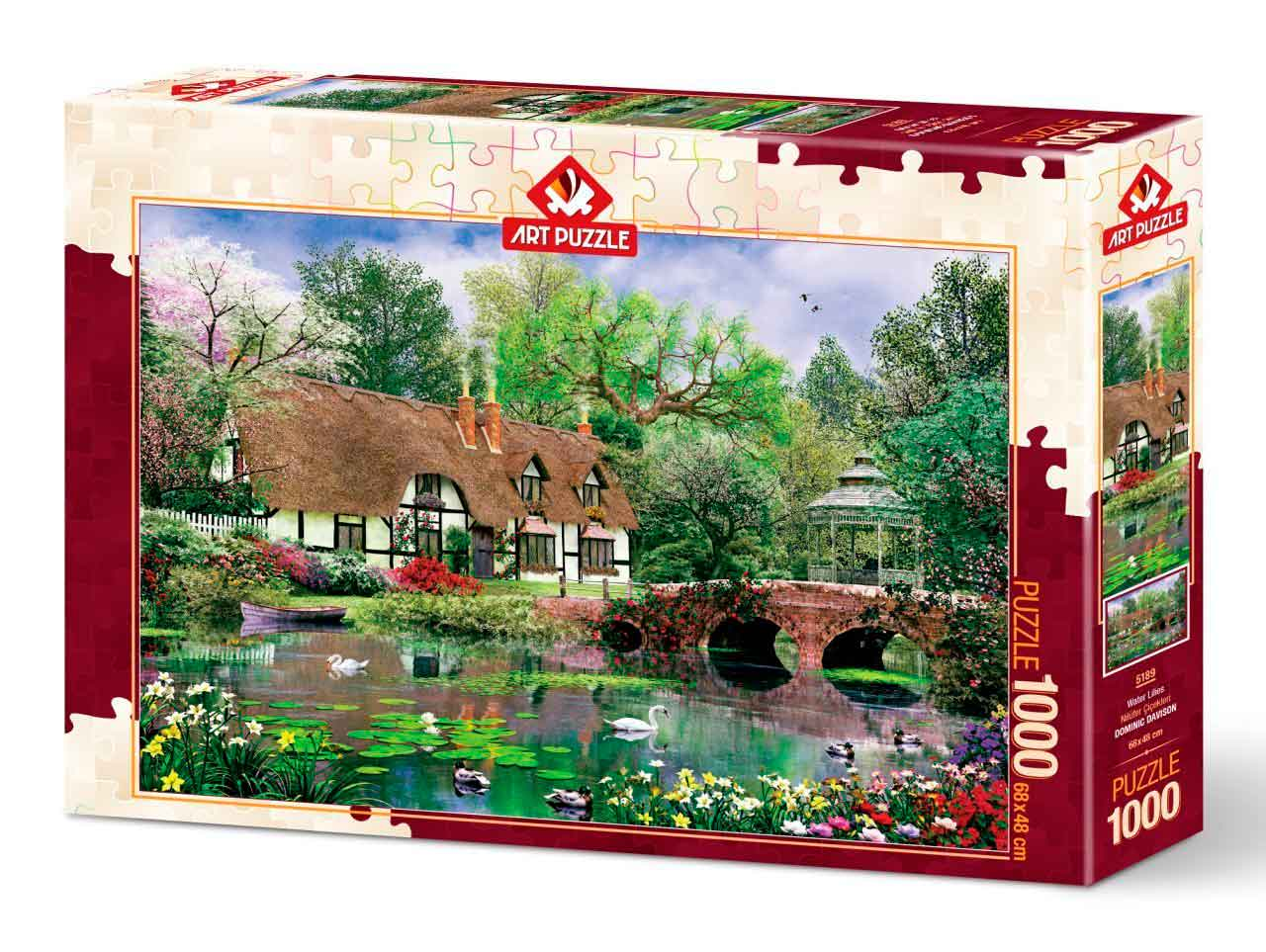 Puzzle Art Puzzle Nenúfares de 1000 Piezas