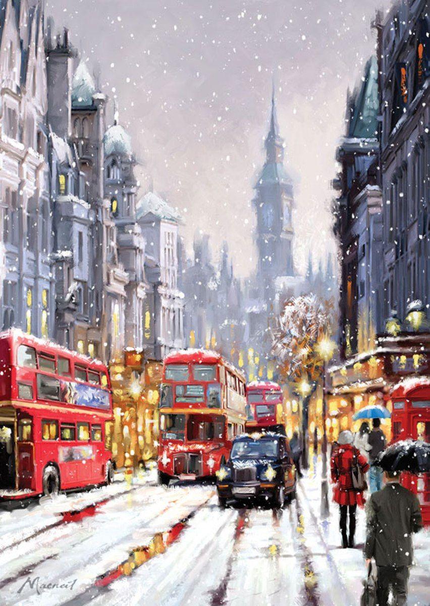 Puzzle Art Puzzle Nevada en Londres de 1500 Piezas