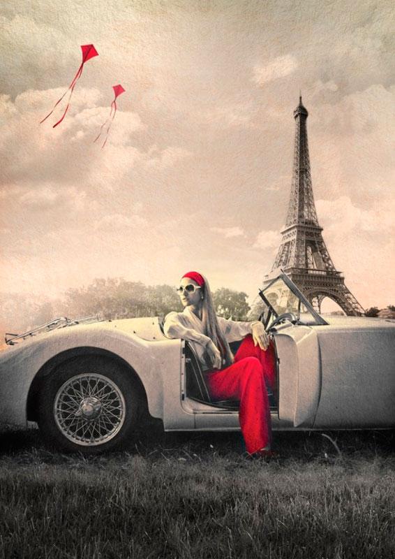 Puzzle Art Puzzle Nostalgia en París 1000 Piezas