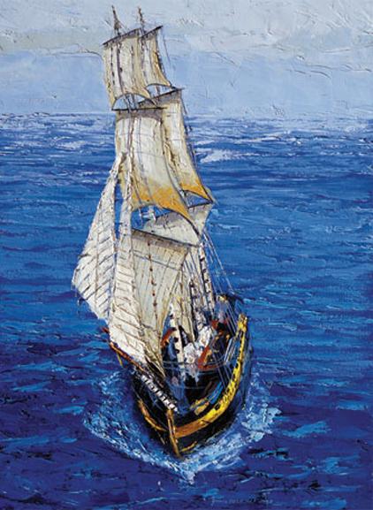 Puzzle Art Puzzle Oleaje en Alta Mar de 500 Piezas