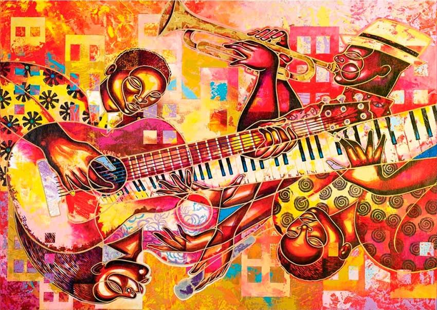 Puzzle Art Puzzle Orquesta 1000 Piezas