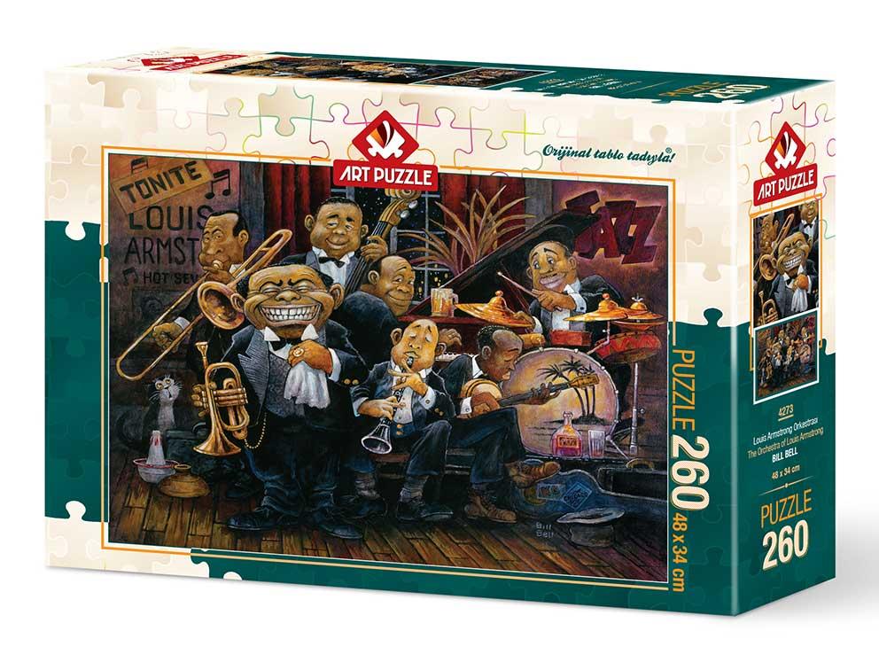 Puzzle Art Puzzle Orquesta de Louis Amstrong de 260 Piezas