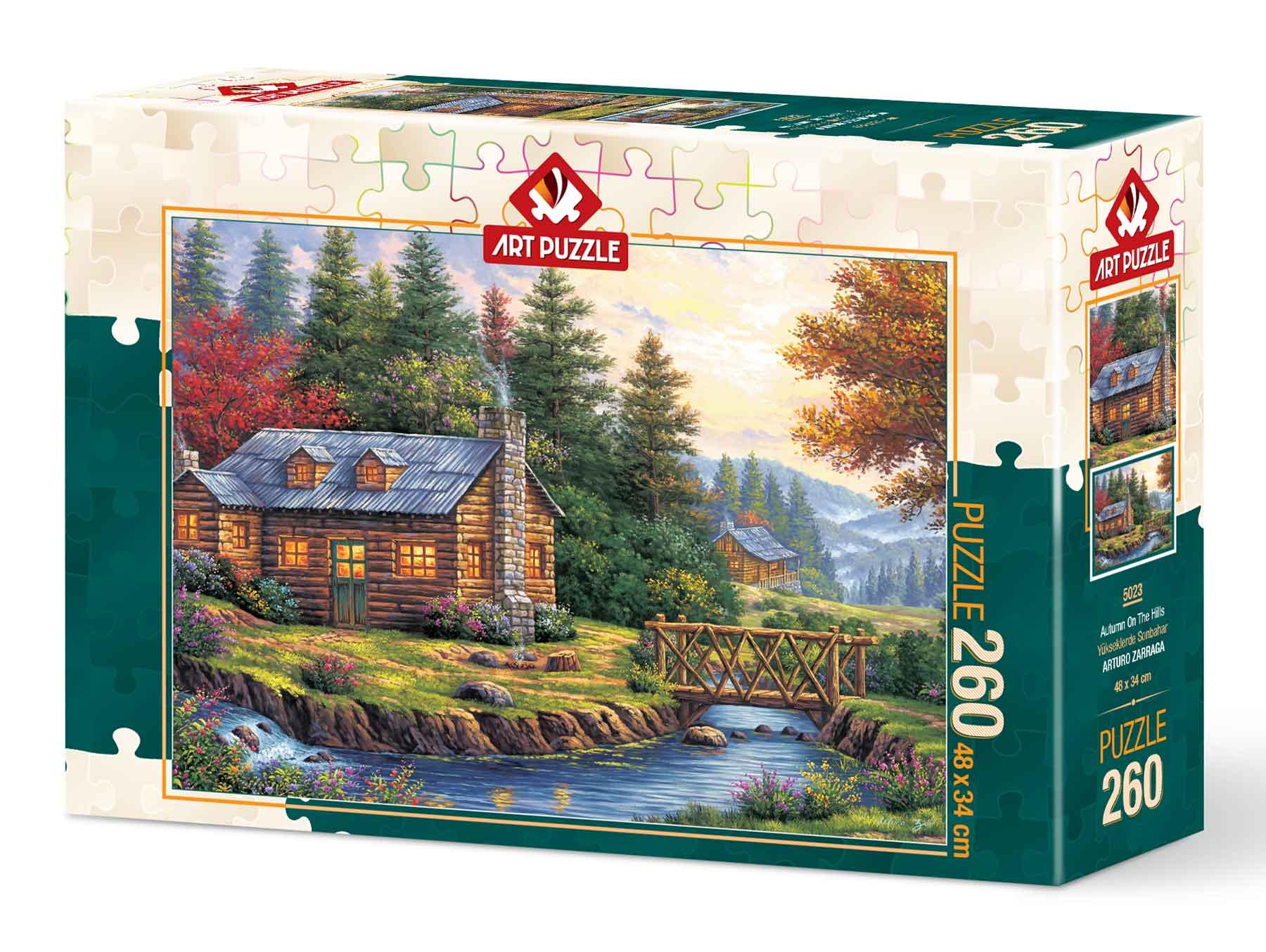 Puzzle Art Puzzle Otoño en las Colinas de 260 Piezas