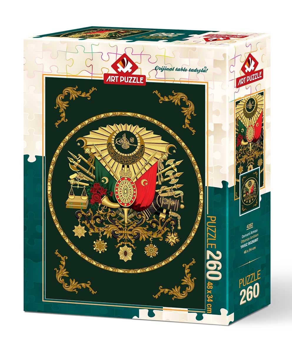 Puzzle Art Puzzle Ottoman Ambled de 260 Piezas