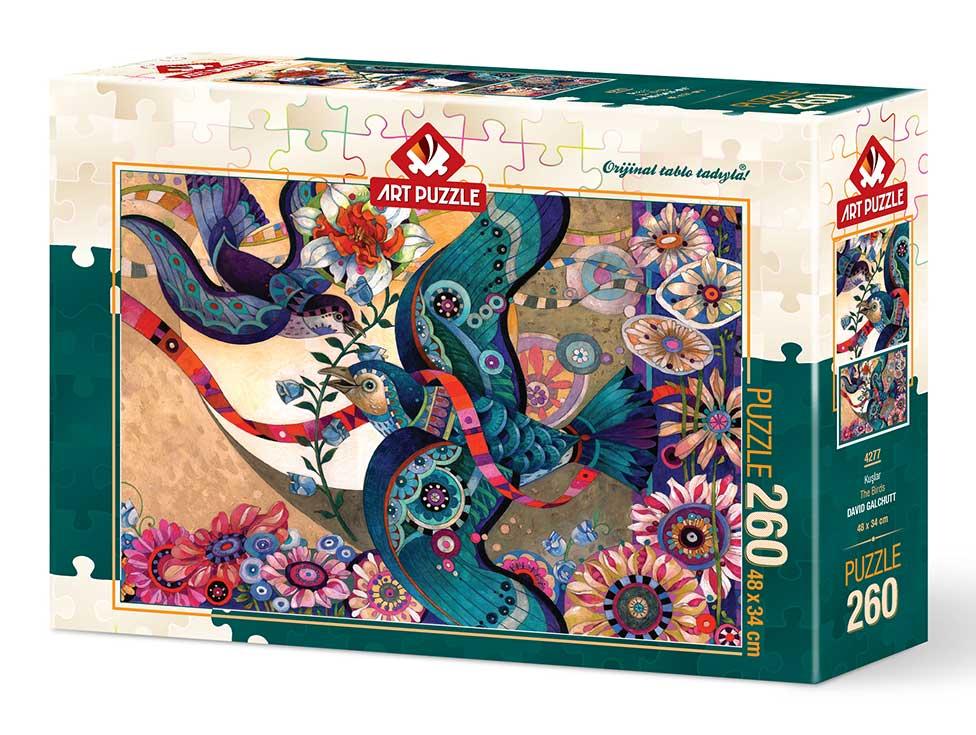 Puzzle Art Puzzle Pajaros de 260 Piezas