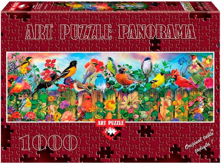 Puzzle Art Puzzle Pájaros de Primavera de 1000 Piezas