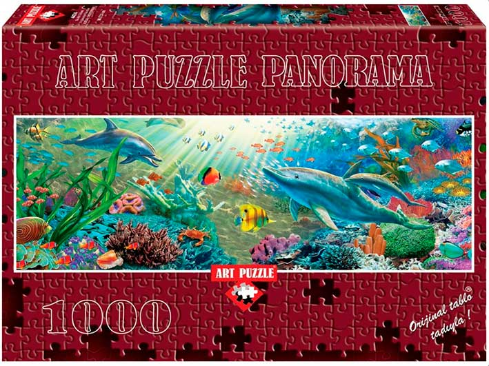 Puzzle Art Puzzle Paraíso Bajo el Mar de 1000 Piezas