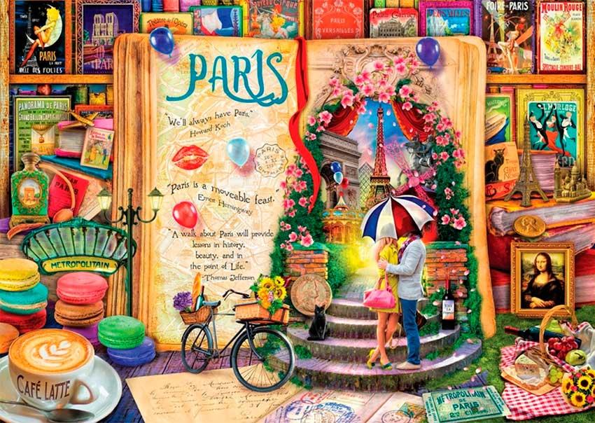 Puzzle Art Puzzle París 1000 Piezas