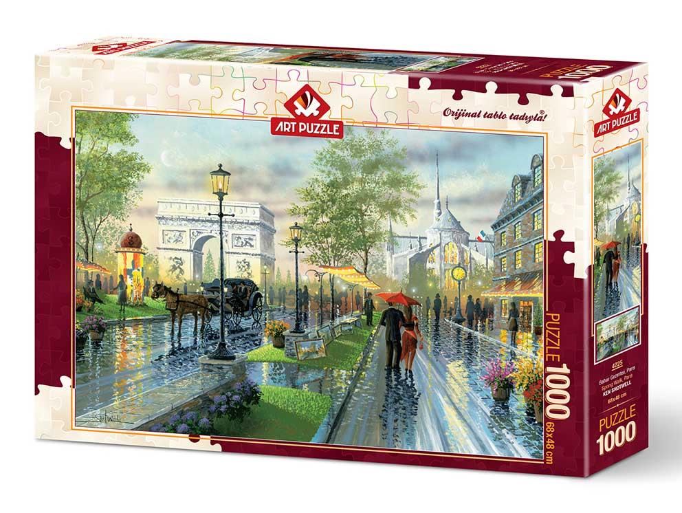 Puzzle Art Puzzle Paseo Primaveral por París de 1000 Piezas