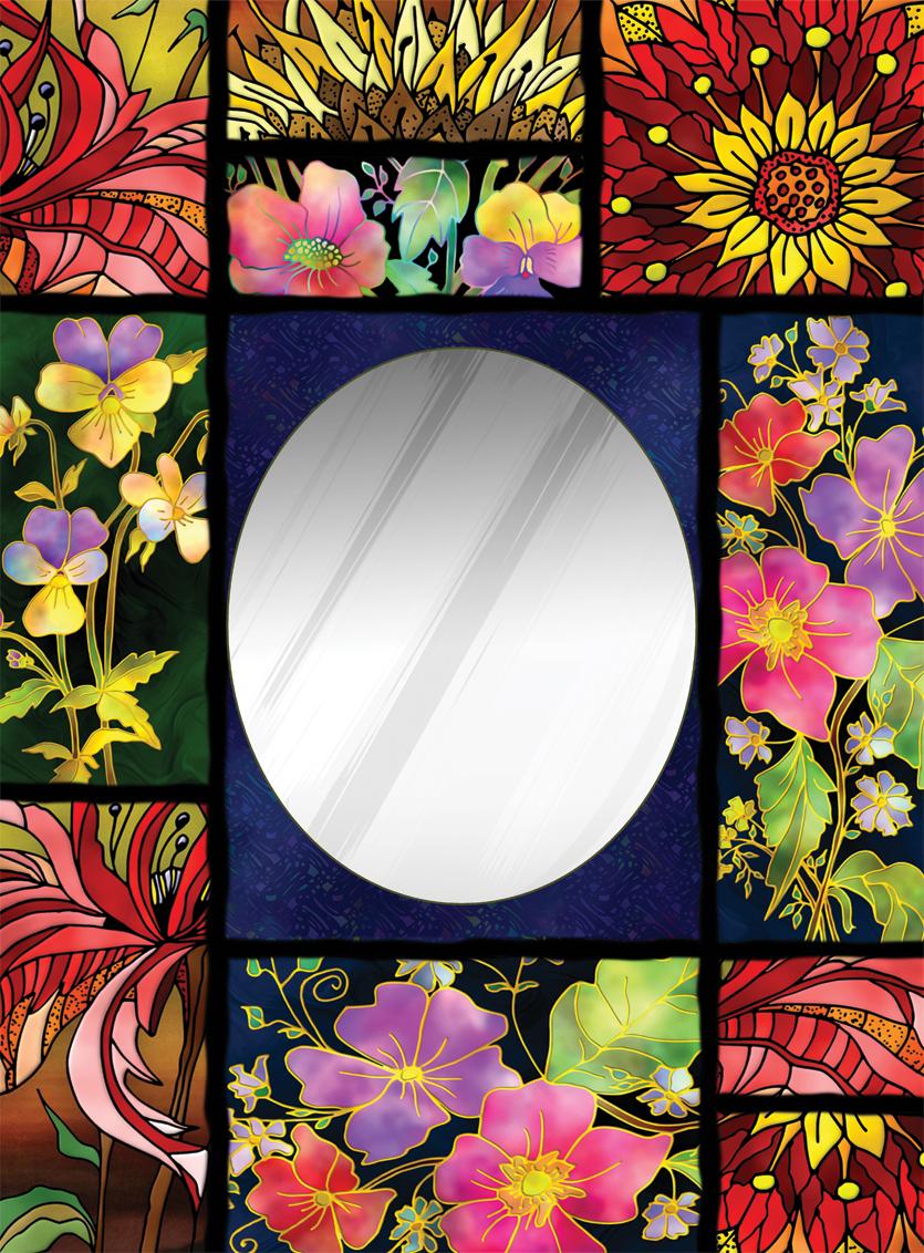 Puzzle Art Puzzle Patchwork, Puzzle Espejo de 850 Piezas