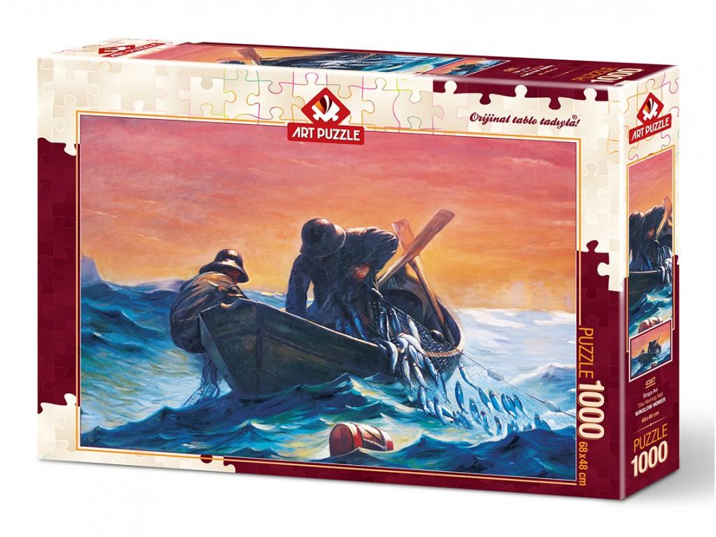 Puzzle Art Puzzle Pescadores de Redes de 1000 Piezas