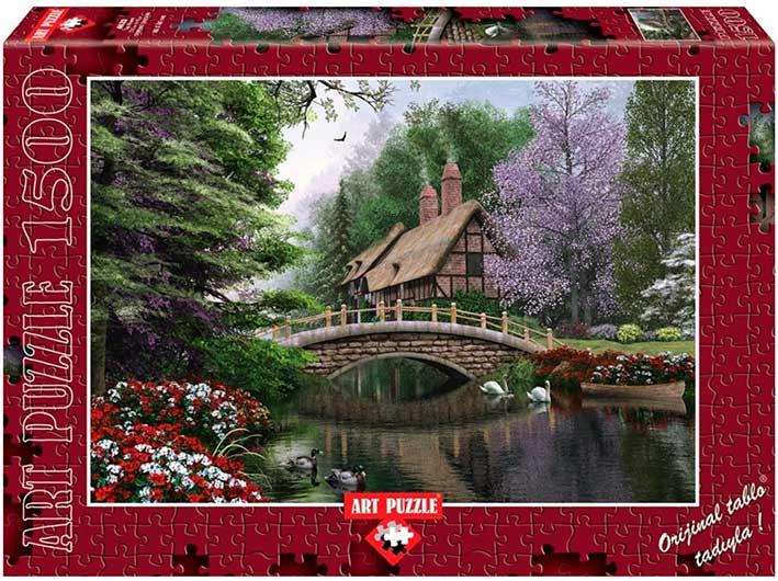 Puzzle Art Puzzle Puente de Piedra de 1500 Piezas
