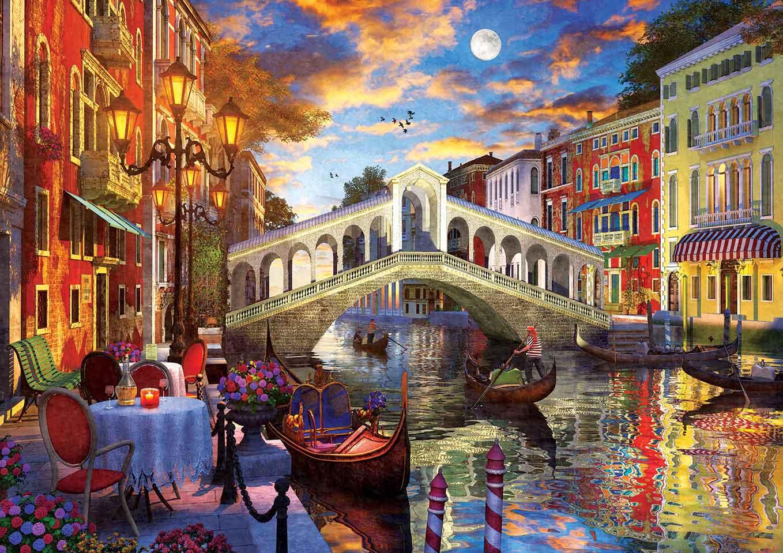 Puzzle Art Puzzle Puente Rialto, Venecia de 1500 Piezas