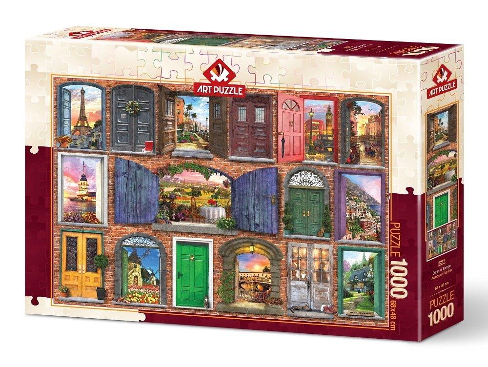 Puzzle Art Puzzle Puertas de Europa de 1000 Piezas