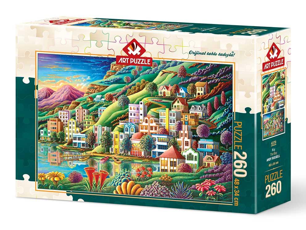 Puzzle Art Puzzle Puerto en la Bahía de 260 Piezas