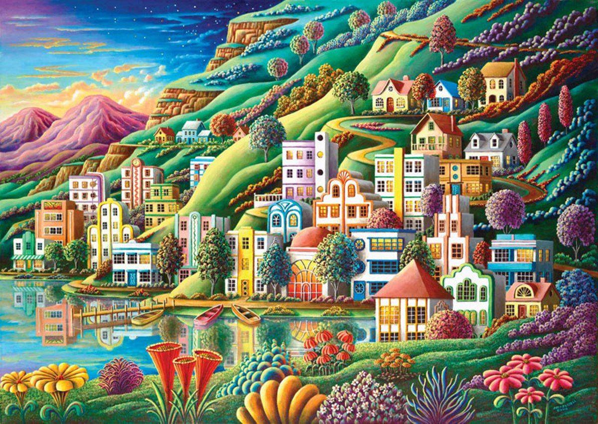 Puzzle Art Puzzle Puerto Oculto de 1500 Piezas