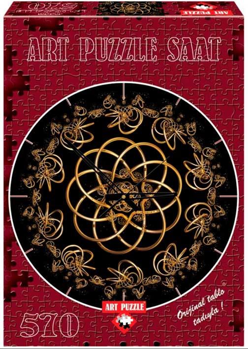 Puzzle Art Puzzle Reloj Bailando con la Noche de 570 Piezas