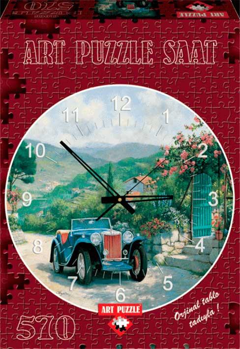 Puzzle Art Puzzle Puzzle Reloj Coche Clásico de 570 Pie