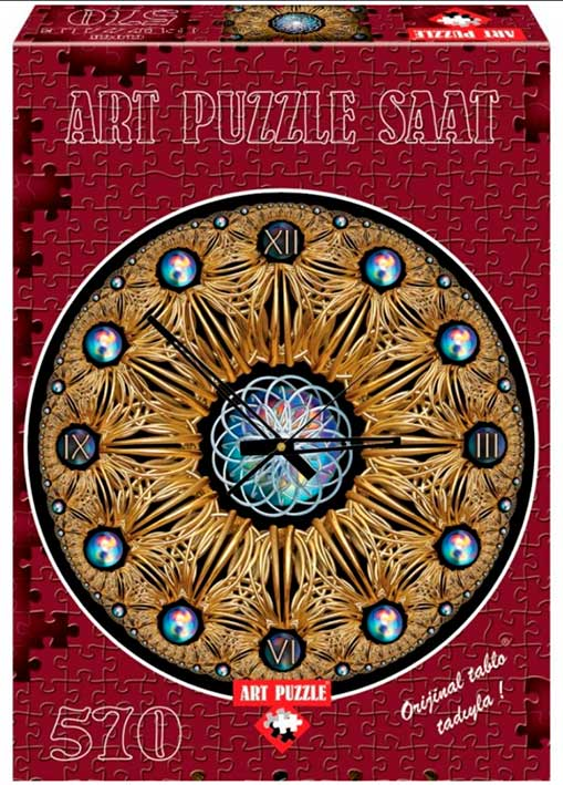 Puzzle Art Puzzle Puzzle Reloj Oro de 570 Pie
