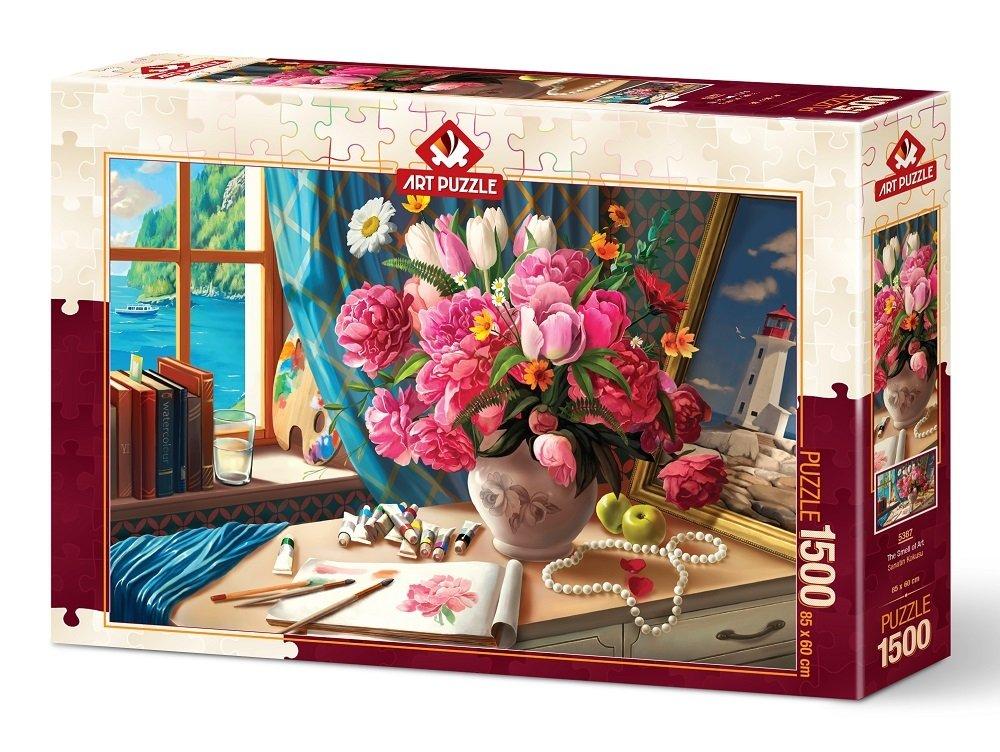 Puzzle Art Puzzle Ramo de Flores Artístico de 1500 Piezas