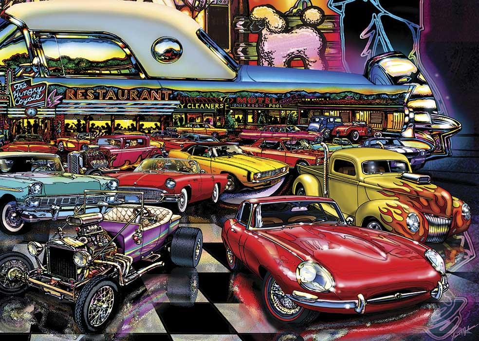 Puzzle Art Puzzle Reunión Nocturna de 260 Piezas