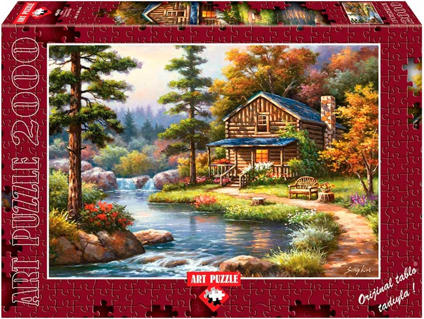 Puzzle Art Puzzle Septiembre 2000 Piezas