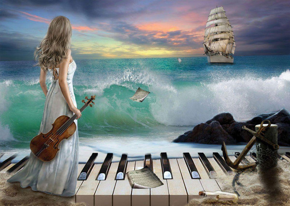 Puzzle Art Puzzle Sinfonía del Mar de 1000 Piezas