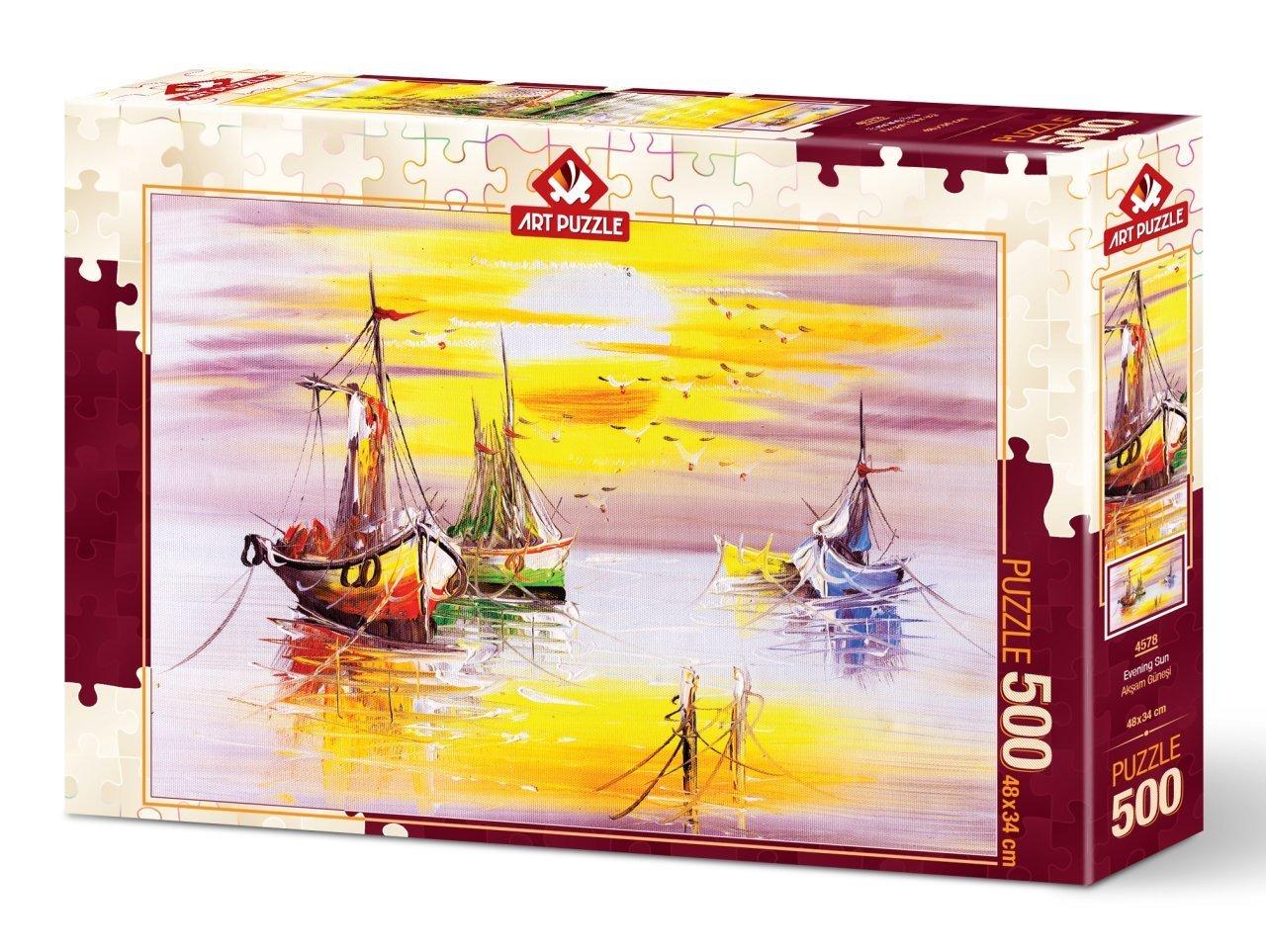 Puzzle Art Puzzle Sol de la Tarde de 500 Piezas