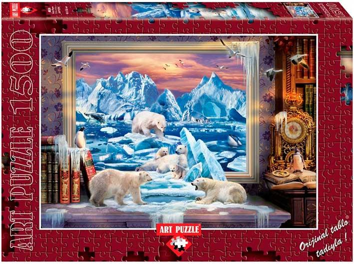 Puzzle Art Puzzle Sueño del Ártico de 1500 Piezas