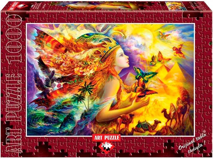 Puzzle Art Puzzle Sueños de Mariposas 1000 Piezas