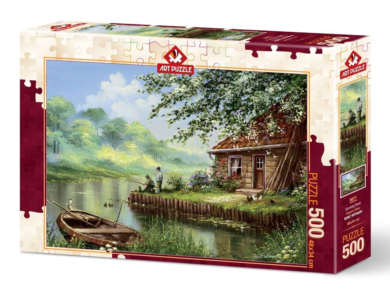 Puzzle Art Puzzle Tarde de Pesca de 500 Piezas