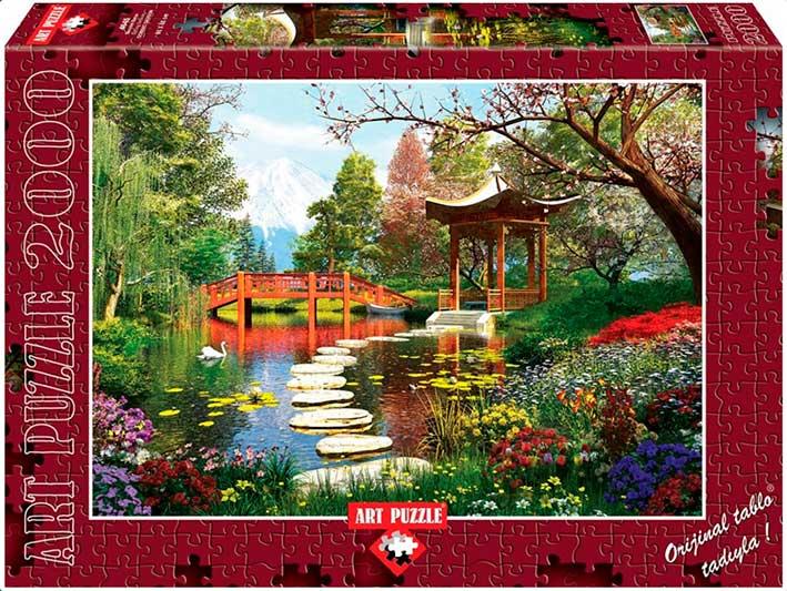 Puzzle Art Puzzle Temporada de Primavera 2000 Piezas