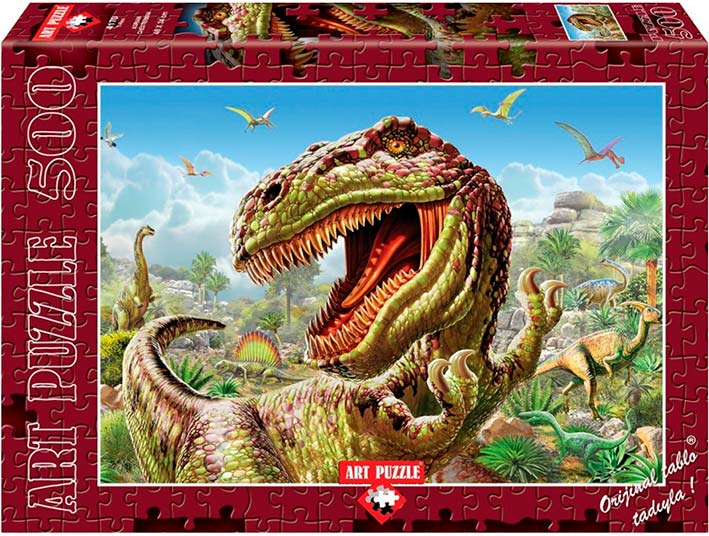 Puzzle Art Puzzle Tiranosaurio Rex de 500 Piezas