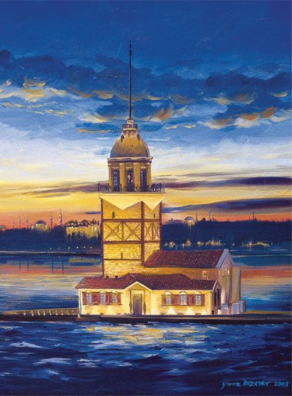 Puzzle Art Puzzle Torre de Turquia de 500 Piezas
