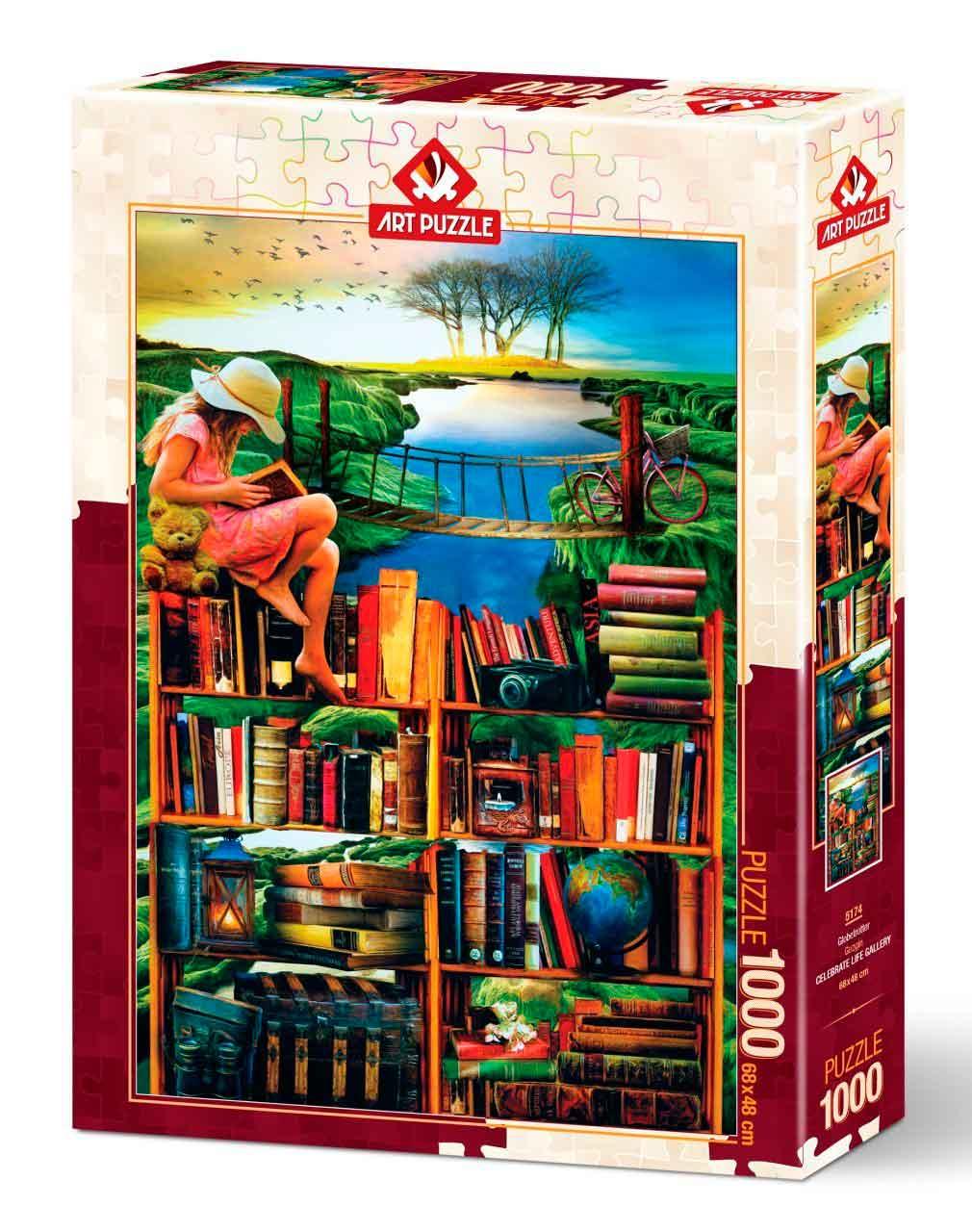 Puzzle Art Puzzle Trotamundos de 1000 Piezas