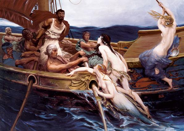 Puzzle Art Puzzle Ulises y las Sirenas de 2000 Piezas