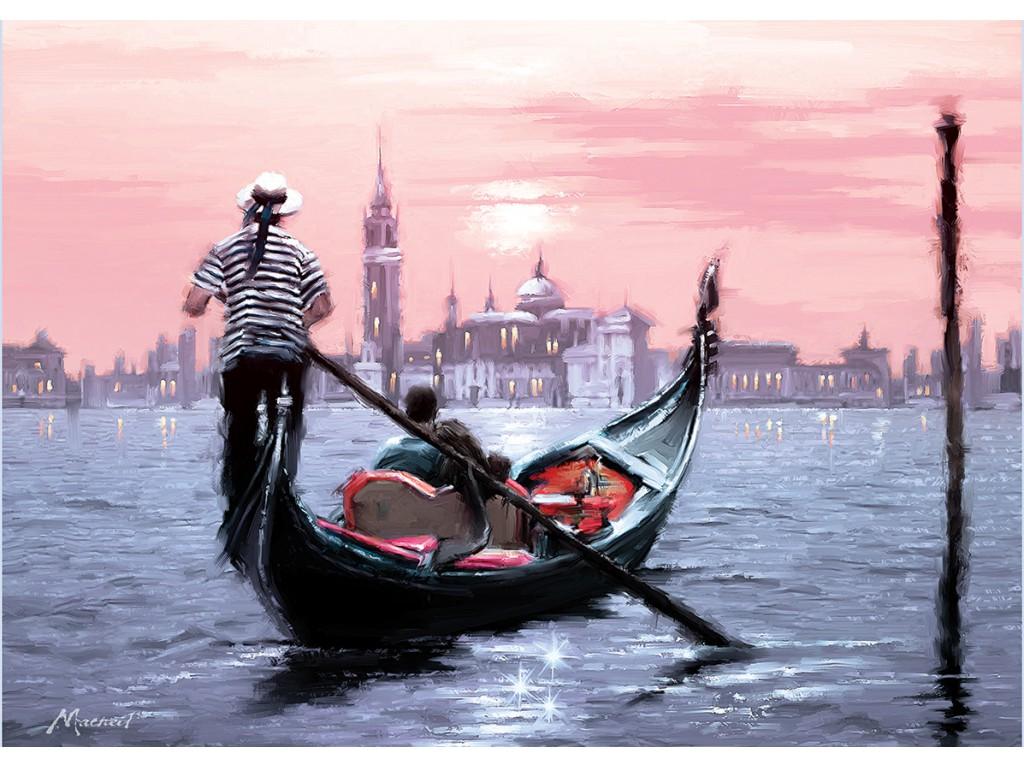 Puzzle Art Puzzle Venecia al Atardecer de 1000 Piezas